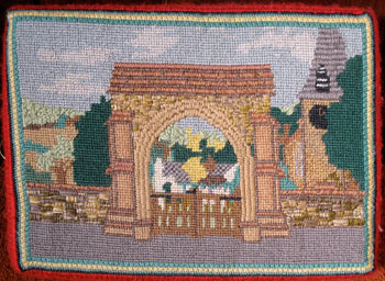 Church design kneeler